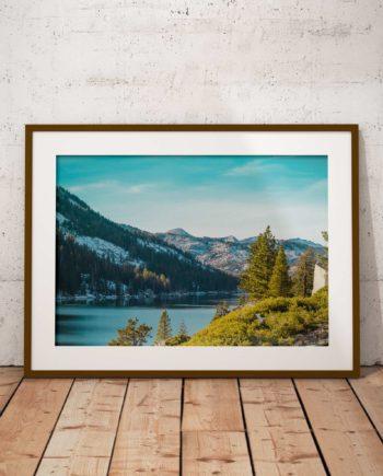 Gallery Print Echo Lake Voorzijde