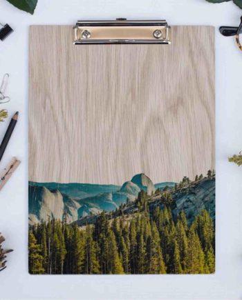 Eikenhouten klembord Yosemite