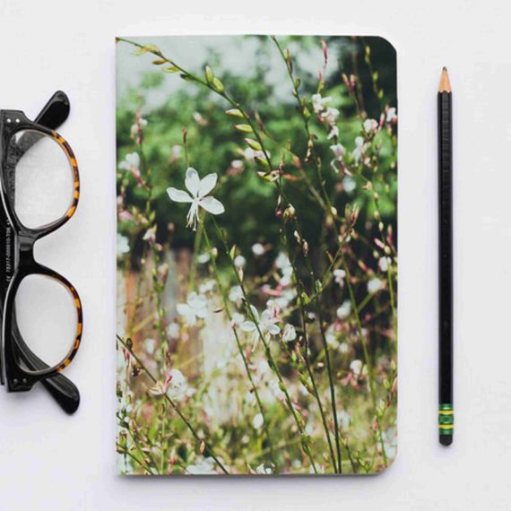Op FairFrog: Notebook Gerecycled Papier Wilde Bloemen