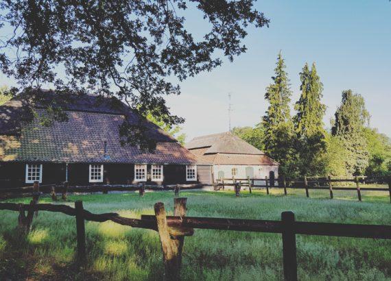 Duurzame ansichtkaart Brabantse Landschap Den Bockenreyder