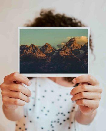 affordable art fotografie op een kaartje