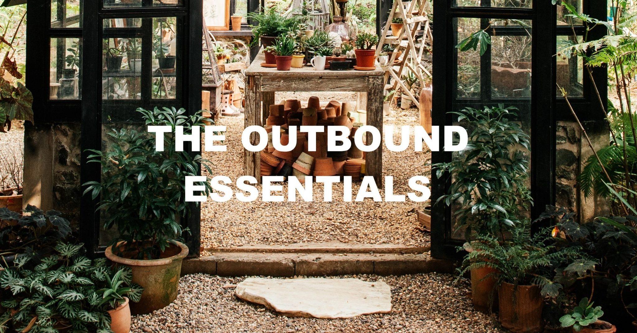Outbound essentials van mookstories zijn duurzame lifestyle producten