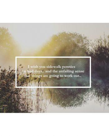 fotkaart met gedichtje voor moeilijke momenten