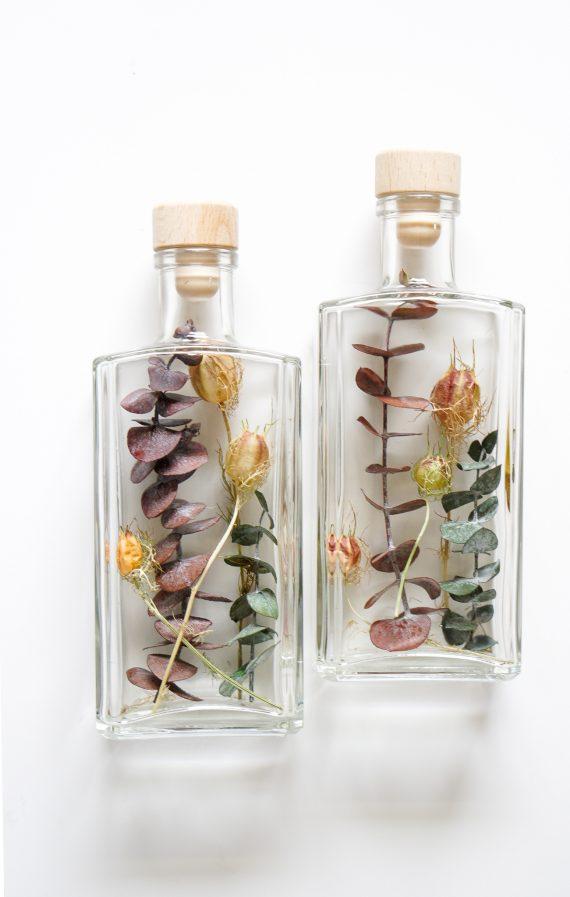 Herfstkleuren in een fles