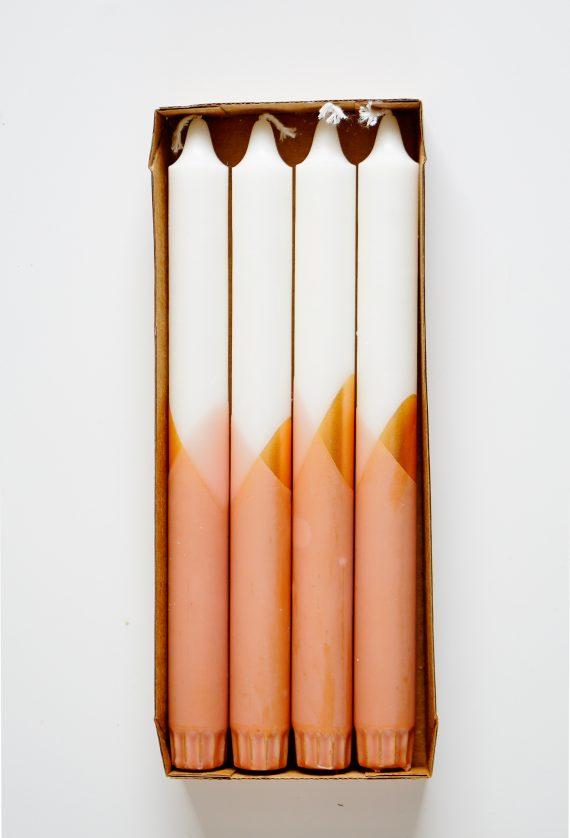 Cross kaarsen rustik Lys handgedipt