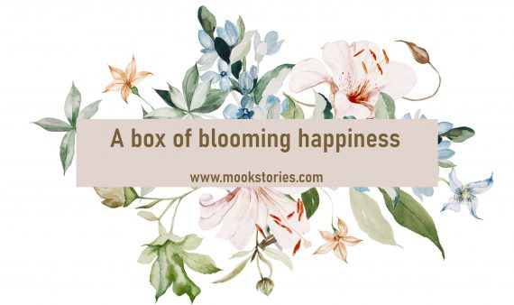 a box of blooming happiness